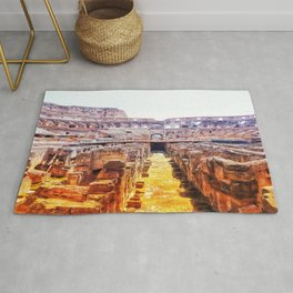 The Lions Den Rug