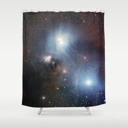 R Coronae Australis Shower Curtain