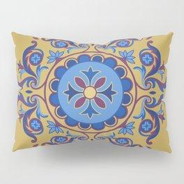 Ottoman Floral Art Pillow Sham