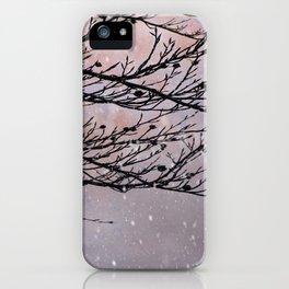Dusky Winter Days iPhone Case
