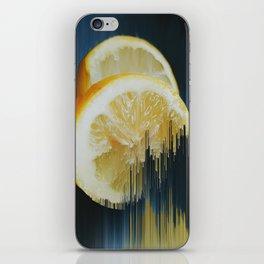 Lemony Good Glitch iPhone Skin