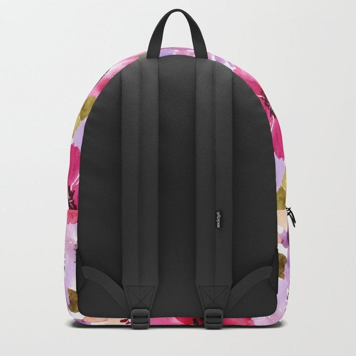 FLOWERS WATERCOLOR 6 Backpack