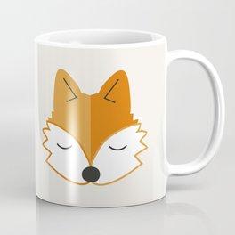 Cute Fox Head Coffee Mug
