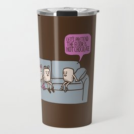 The Floor is Hot Chocolate! Travel Mug