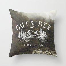 Outsider Throw Pillow