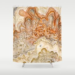 Crazy Lace Agate 2 Shower Curtain