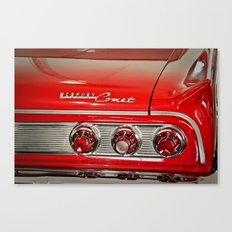 1963 Mercury Comet Red Canvas Print
