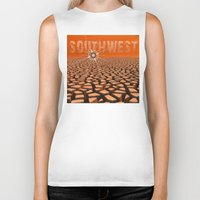 southwest Biker Tanks featuring Southwest by Phil Perkins