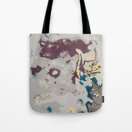 green yellow brown and grey abstract background Tote Bag