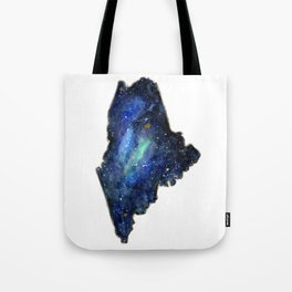 Maine Galaxy Tote Bag
