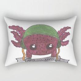Axanthic Axolotl Rectangular Pillow