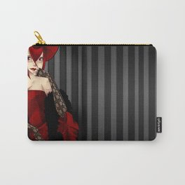 .MadamRed. Carry-All Pouch