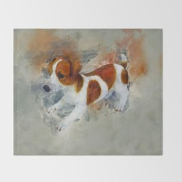 Jack Russell Throw Blanket
