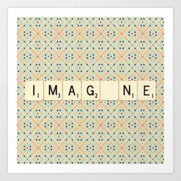 IMAG_NE  Art Print
