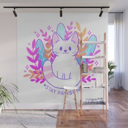 Pawsitive Cat Wall Mural