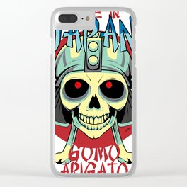 Skullet Made In Japan Clear iPhone Case