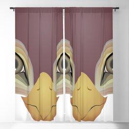 2D Bird 1 Blackout Curtain