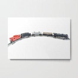 Vintage Model Train 5 Metal Print