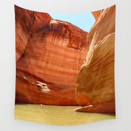 Antelope Canyon On Lake Powell Wall Tapestry