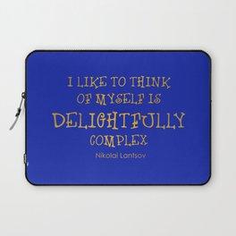 Delightfully Complex Laptop Sleeve