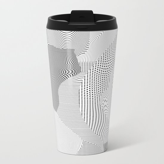 Chrome Metal Travel Mug