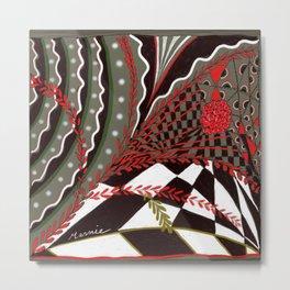 Pentangle Metal Print