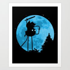 A.T. - With Finn and Jake Art Print
