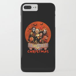 Horror movie halloween is my christmas iPhone Case