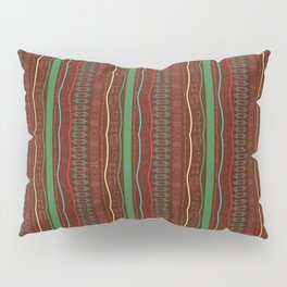 african ethnic multi color pattern Pillow Sham