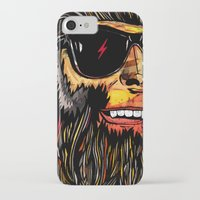 teen wolf iPhone & iPod Cases featuring Teen Wolf by Vasco Vicente