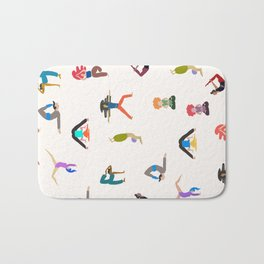 yoga lovers Bath Mat