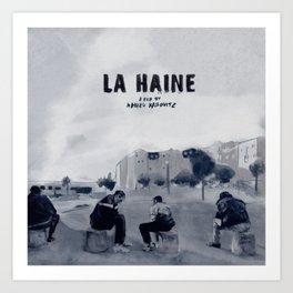 La Haine Art Print