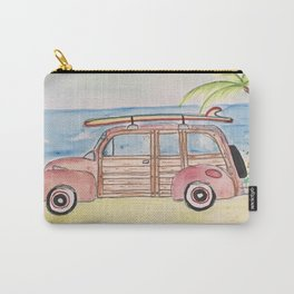 Surfin shoreline Carry-All Pouch