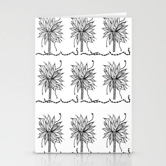 Super Banana Tree Stationery Cards