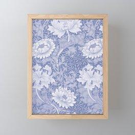 "William Morris ""Chrysanthemum"" 8. Framed Mini Art Print"