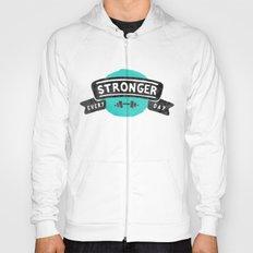 Stronger Every Day (dumbbell) Hoody