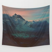 garden Wall Tapestries featuring Garden by Daniel Montero