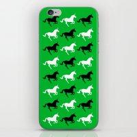 unicorns iPhone & iPod Skins featuring Unicorns by Fabian Bross