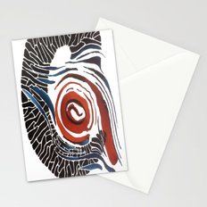 Horn-swirl Stationery Cards