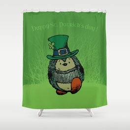 Happy st. Patrick's Day! Shower Curtain