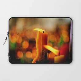 Candles and Prayers Laptop Sleeve