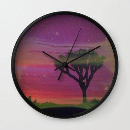 Joshua Tree, 2020 Wall Clock