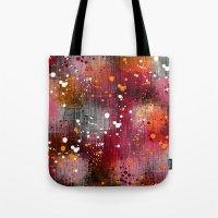 splatter Tote Bags featuring Splatter by KRArtwork