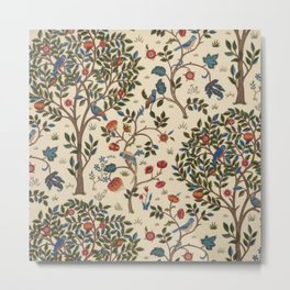 William Morris Kelmscott Tree Metal Print