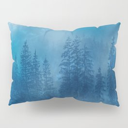 Blue Magical Forest Pillow Sham