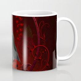 Wonderful crow with roses Coffee Mug