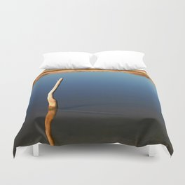 Stick In The Water Duvet Cover