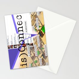 disConnected Stationery Cards