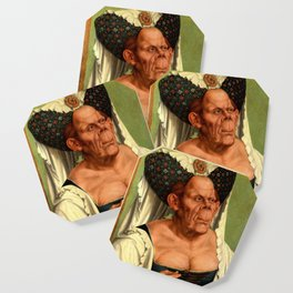 The Ugly Duchess - Quentin Matsys Coaster
