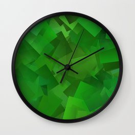 Cubed grass ... Wall Clock